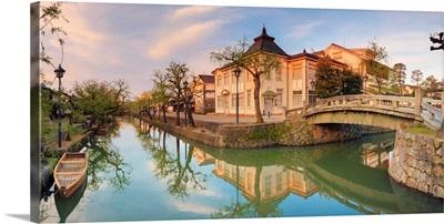 Japan, Kurashiki, traditional buildings in the Historic Bikan Quarter