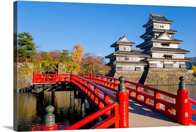 Japan, Nagano Prefecture, Matsumoto, Matsumoto-jo (Matsumoto Castle)