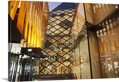 Japan, Tokyo, Aoyama, Prada Store, Architect Herzog