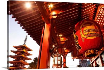 Japan, Tokyo, Asakusa, Asakusa Kannon Temple