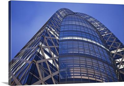 Japan, Tokyo, Shinjuku, Mode Gakuin Cocoon Tower, Architect Tange Associates