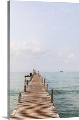 Jetty On Ao Phrao Beach, Ko Kut, Nr. Ko Chang, Thailand
