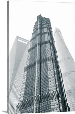 Jin Mao Tower, Shanghai Tower, Lujiazui, Pudong, Shanghai, China