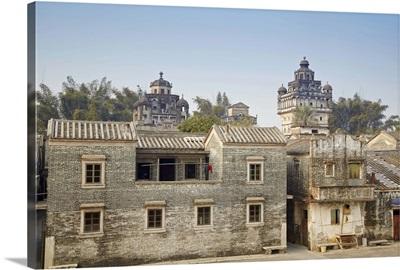 Jinjiangli village, Kaiping, Guangdong, China