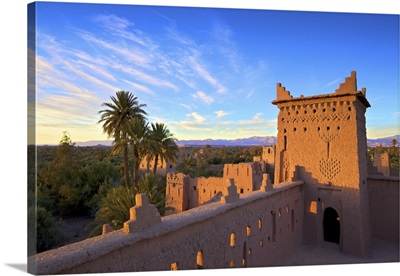 Kasbah Amerhidil, Skoura, Quarzazate Region, Morocco, North Africa