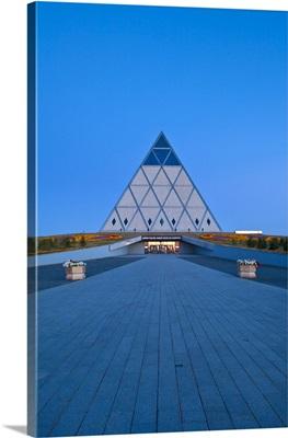 Kazakhstan, Astana, Palace of Peace and Reconciliation pyramid