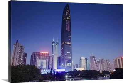Kingkey 100 Finance Building, Shenzhen, Guangdong, China