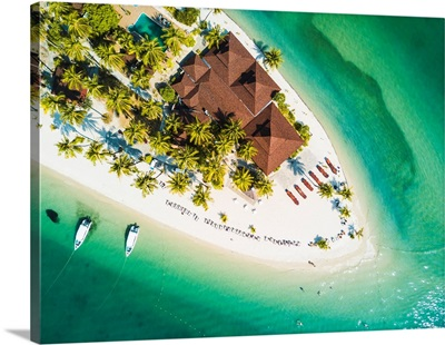 Ko Muk (Ko Mook), Trang Province, Thailand. Sivalai Beach Resort, Aerial View (PR).