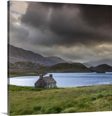 Loch Stack, Sutherland, Highlands, Scotland, United Kingdom