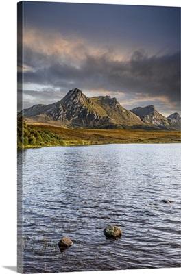 Lochan Hakel And Ben Loyal, Sutherland, Highlands, Scotland, United Kingdom