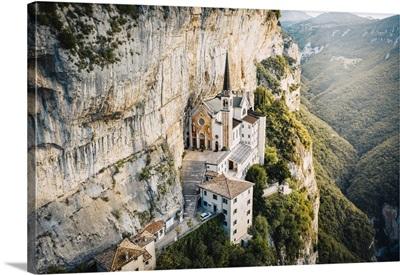 Madonna Della Corona Sanctuary, Ferrara Di Monte Baldo, Garda Lake, Veneto, Italy