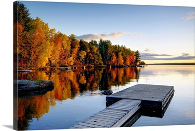 Maine, Baxter State Park, Lake Millinocket
