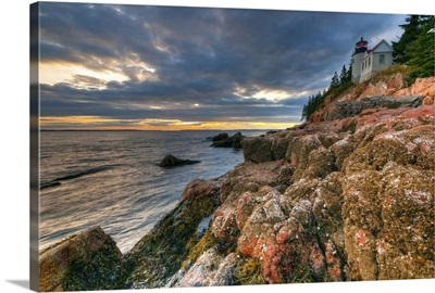 Maine, Mount Desert Island, Bas Harbor, Bas Harbor Lighthouse