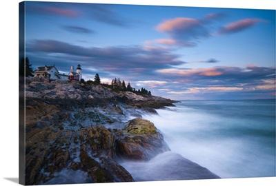 Maine, Pemaquid Peninsular, Pemaquid Point Lighthouse