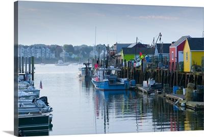 Maine, Portland, Widgery Wharf