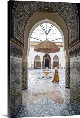 Marrakech Museum, housed in the 19th century Dar Menebhi Palace