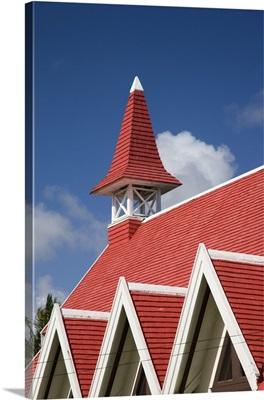 Mauritius, North Mauritius, Cap Maleureux church