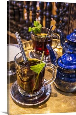 Mint Tea, Khan El-Khalili Souk, Cairo, Egypt