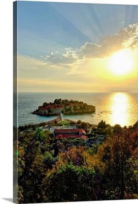 Montenegro, Sveti Stefan, now Aman Sveti Stefan Hotel
