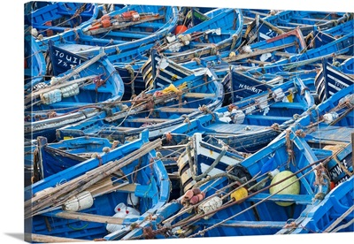 Morocco, Marrakesh-Safi (Marrakesh-Tensift-El Haouz) region, Essaouira. Fishing port