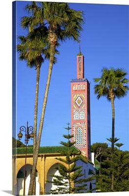 Mosque of Sidi Bou Abib, Grand Socco, Tangier, Morocco, North Africa
