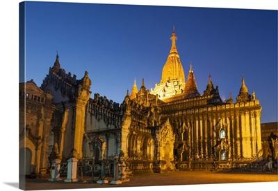 Myanmar (Burma), Bagan, Ananda Temple
