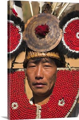 Myanmar, Lahe village, Naga New Year Festival, Taungkul tribe