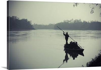 Nepal, Chitwan National Park, Narayani River