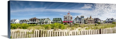 New Jersey, Cape May, Victorian houses along Beach Avenue