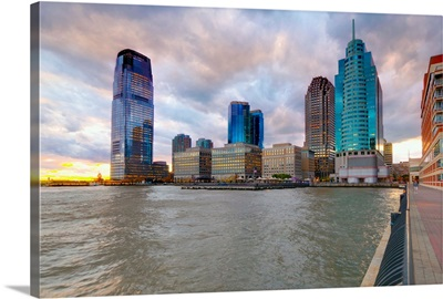 New Jersey, Jersey City on the Hudson River