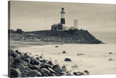 New York, Long Island, Montauk, Montauk Point Lighthouse