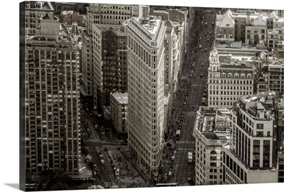 New York, Manhattan, Midtown, The Flatiron Building