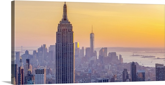 New York, Midtown and Lower Manhattan, Empire State Building and ...