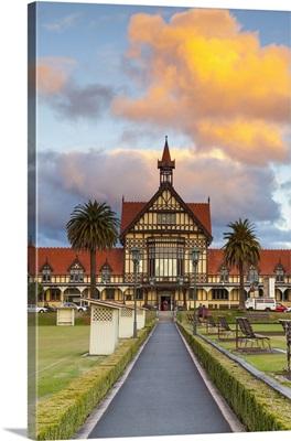 Old Bath House, Museum of Art and History, Rotorua, North Island, New Zealand