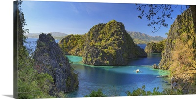 Philippines, Palawan, Coron Island, Kayangan Lake