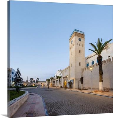 Place d'Horloge, clocktower and buildings in medina
