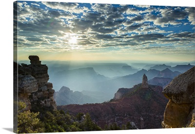 Point Imperial, Grand Canyon, North Rim, Grand Canyon National Park, USA