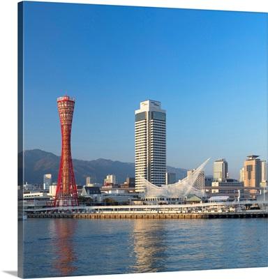 Port Tower And Maritime Museum, Kobe, Kansai, Japan
