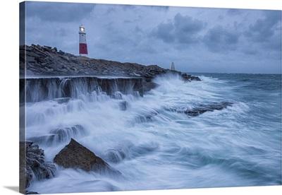 Portland Bill Lighthouse, Isle Of Portland, Jurassic Coast, Dorset, England, UK