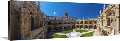 Portugal, Lisbon, Belem, Mosteiro dos Jeronimos, Cloisters
