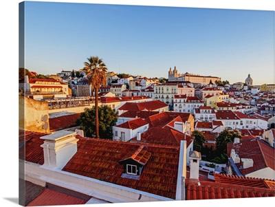 Portugal, Lisbon, Miradouro das Portas do Sol