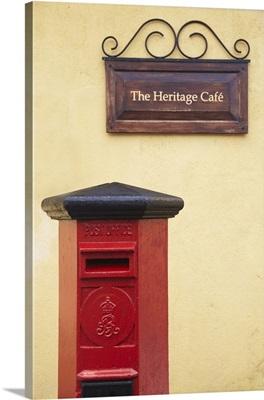 Postbox, Galle, Southern Province, Sri Lanka