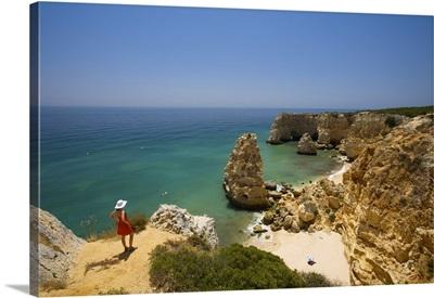 Praia da Marinha, Lagoa, Algarve, Portugal