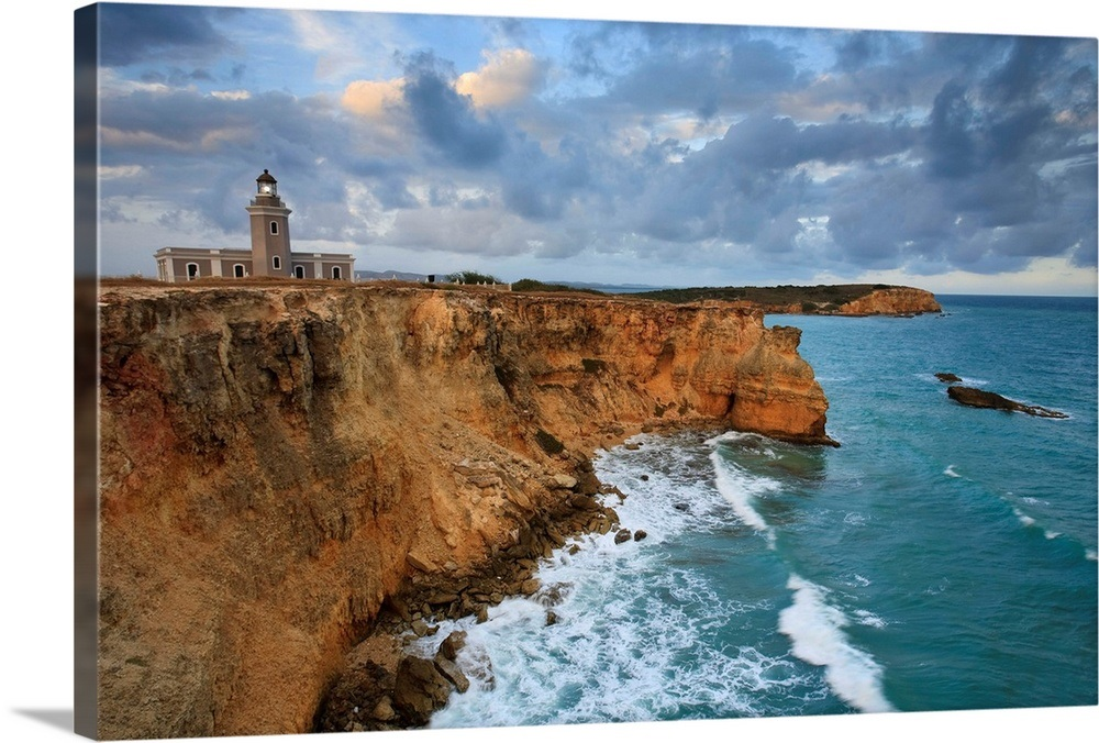 Puerto Rico, West Coast, Punta Jaguey, Faro de Cabo Rojo (Red Cape  Lighthouse)