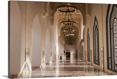Qatar, Doha,  Mohammed bin Abdulwahhab Mosque - The State Mosque of Qatar