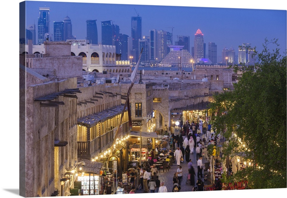 Qatar, Doha, Souq Waqif