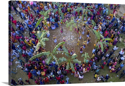 Rash Mela Is The Principal Festival And Fair Of The Manipuris, Maulvi Bazar, Bangladesh