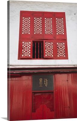 Renovated Chinese shop, Macau, China