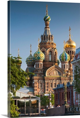 Russia, St. Petersburg, Center, Church of the Saviour of Spilled Blood