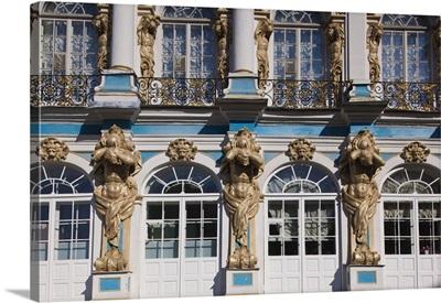 Russia, St. Petersburg, Pushkin-Tsarskoye Selo, Catherine Palace